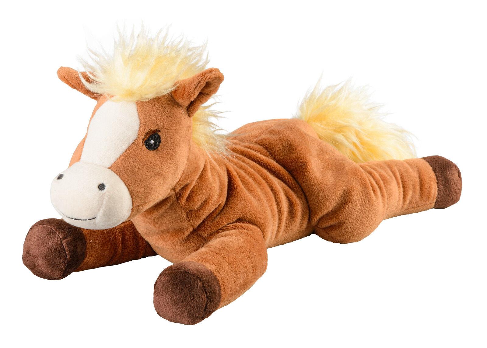 Original Warmies Greenlife Wärmestofftier Wärmekissen Körnerkissen Wärmetier NEU Pony