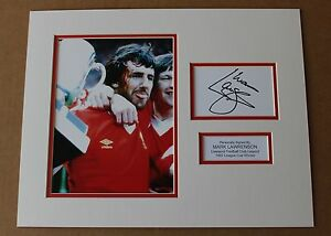 GENUINE-MARK-LAWRENSON-LIVERPOOL-HAND-SIGNED-AUTOGRAPH-PHOTO-MOUNT-COA