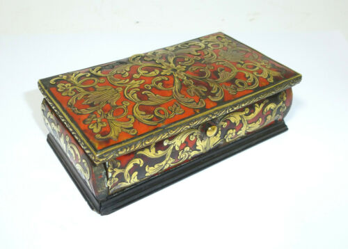 Postage Stamp Box IN Boulle Type XIX Century