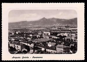 ARQUATA-SCRIVIA-ALESSANDRIA-CARTOLINA-PANORAMA-FG-VG-1959