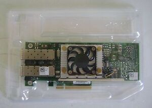 Dell-Broadcom-57810-Dual-Port-10-GB-PCIe-CNA-NIC-NO-Bracket-NO-SFP-N20KJ
