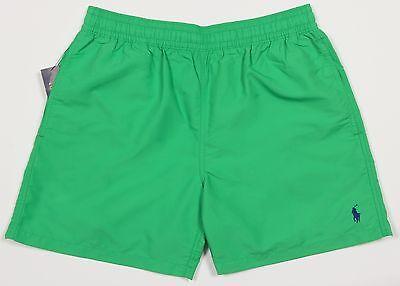 Men's POLO RALPH LAUREN Green Swimsuit Swim Trunks M Medium NWT NEW 710539571033