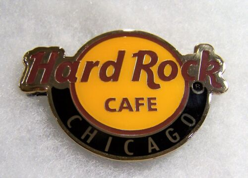 HARD ROCK CAFE CHICAGO CLASSIC LOGO MAGNET