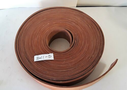 "57 Feet x 3"" Leather Machine Drive Pulley Belt, Never Used"