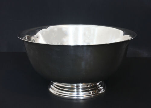 Paul Revere Reproduction By International Sterling Silver 925 Bowl XL 750 Grams