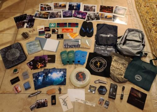 DAVE MATTHEWS BAND MEGA Lot Over 75 Warehouse Tour Items Rare Vintage Most New!