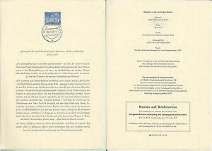 Berlin 30.7.57. - ETB n.24 - Stadtbild 40 Pf - Italia - Berlin 30.7.57. - ETB n.24 - Stadtbild 40 Pf - Italia