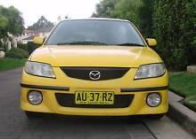 2001 Mazda 323 SP20 Manual BJ II 5 Door Hatch 2.0 Litre Glenwood Blacktown Area Preview