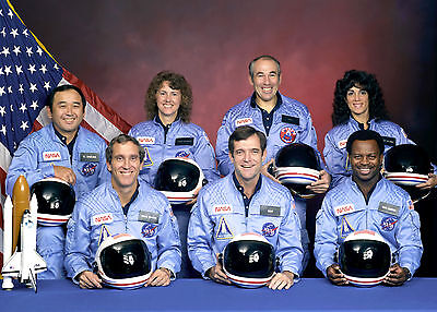 Official Portrait of the Crew of NASA Space Shuttle Challenger-Mission 51-L