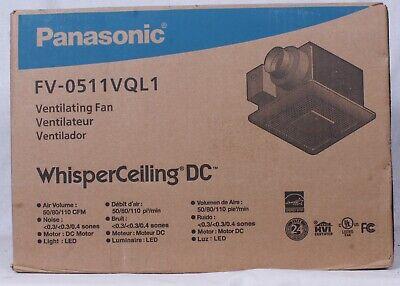 Panasonic FV 05-11VQL1 Whisper Ceiling Fan w/Light