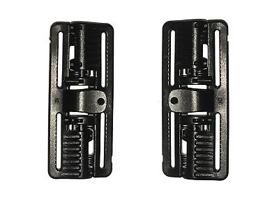 PAIR of Black ROC 80 - Rapid Open Connector Tactical Quick Release...