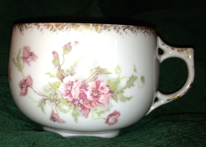 French Limoges France Mustache Cup A K Fine China