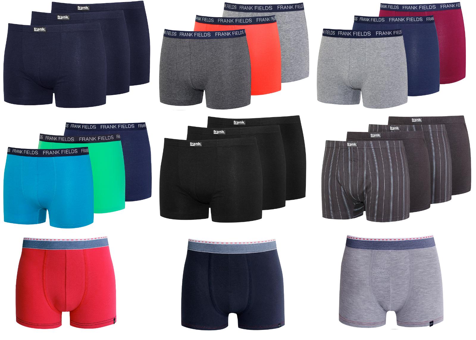 2-4 Boxershort men Retroshort Retropants Unterhose Boxer Shorts Baumwolle Herren
