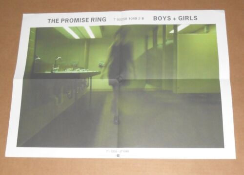 The Promise Ring Boys + Girls Poster Original Promo 22x16