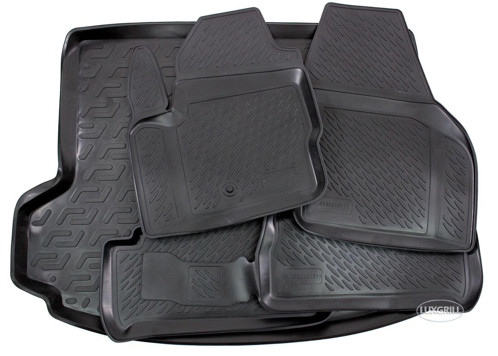 PREMIUM Gummi-Kofferraumwanne mit Antirutsch 3D TPE für OPEL ANTARA  ab 2006