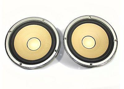 Sansui W-233 Woofer Driver Set For S-530 Speakers Vintage Tested Working