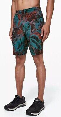 """New Lululemon Pace Breaker Short *Linerless 9"""" Sz XL Tropical Shadow Shark Teal"""