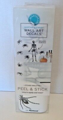 Martha Stewart Halloween Home Decor (Martha Stewart for Fathead Etched Skeleton Peel & Stick Etched Skeleton)