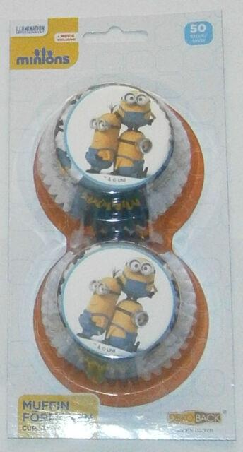Muffinförmchen Minions Minion Muffins Papierförmchen Muffin backen Cupcake