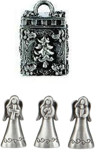 Ganz Triple Angels Prayer Box  and Charm - Kindness, Love, Faith
