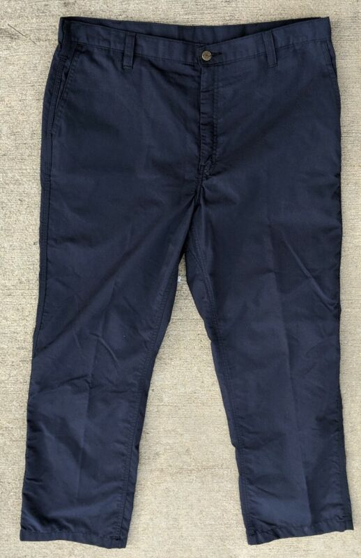 Workrite Glenguard Compliance HRC 2 FR Navy Pants 38 X Flame Resistant ARC 9.5