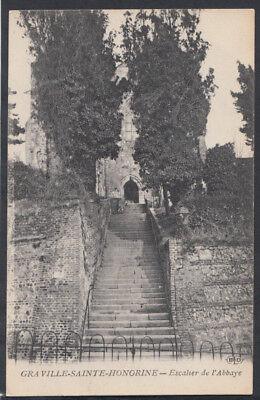 France Postcard - Graville-Sainte-Honorine - Escalier De L'Abbaye  RS10447