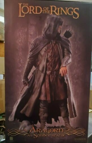 LOTR Sideshow Aragorn Strider Maquette Lord of the Rings #96