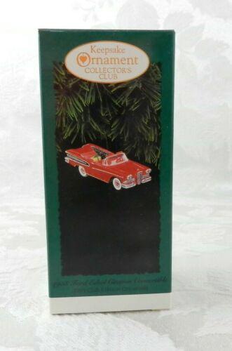 1995 Hallmark Christmas Ornament 1958 Ford Edsel Citation Convertible