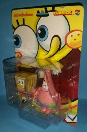 Medicom Kubrick Spongebob Squarepants and Patrick Set SEALED