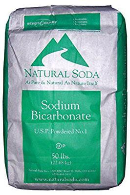Sodium Bicarbonate Baking soda 50 lbs Natural Soda USP BEST for BATH