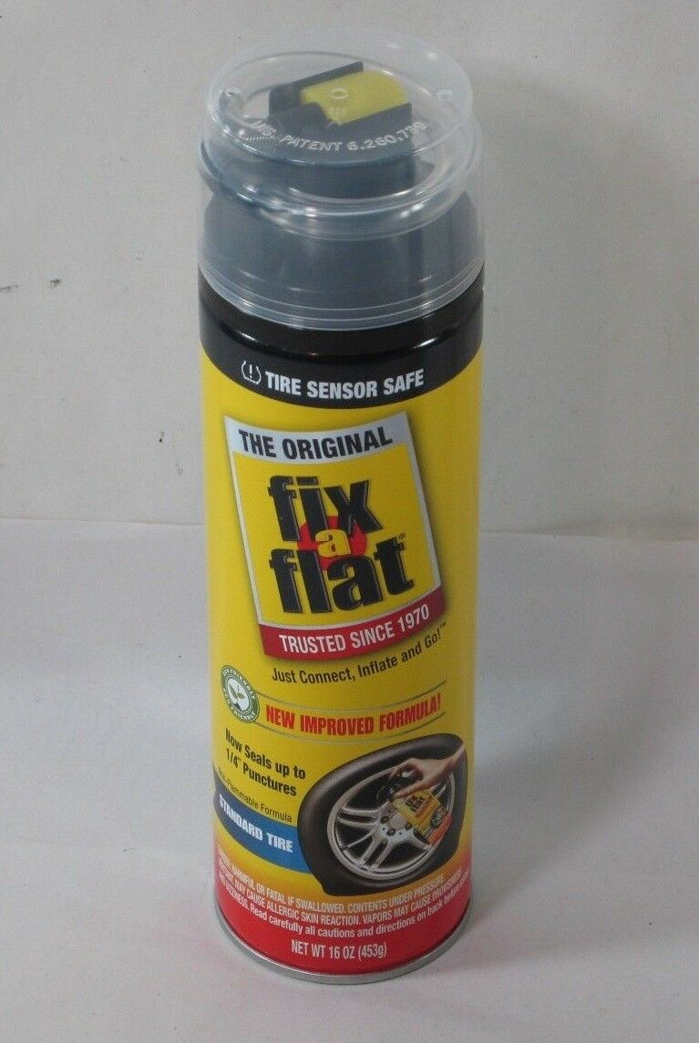 Fix-A-Flat S60420 Tire Puncture Sealer and Inflator with Hose