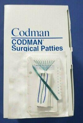 Codman 80-1408 Neuro Surgical Patties 1 X 3 Box Of 20in Date 2023