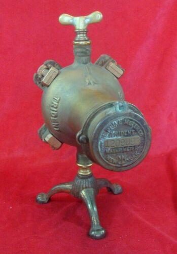Antique TRIDENT Water Meter ( Made NEW YORK, NEPTUNE METER Co.)
