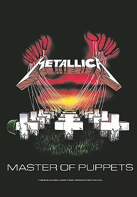Metallica Master Of Puppets large fabric poster / flag 1100mm x 750mm (ro)