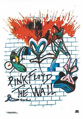 Pink Floyd The Wall large fabric poster / flag 1100mm x 700mm (hr)