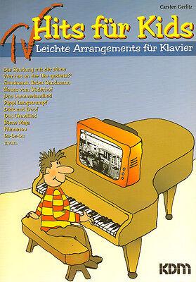 Easy TV-Hits für Kids Carsten Gerlitz (Arr.) Noten Klavier leicht Easy Piano