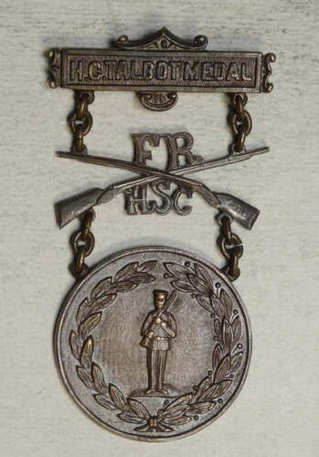Early 20th Century Military Fraternal Order Badge, H. C. Talbot Medal   0731-12