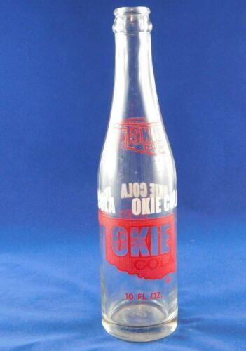 Vintage Okie Cola Bottle 10 oz Tulsa Bottling Co