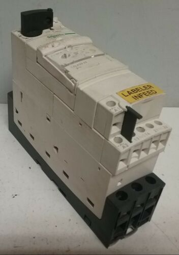Schneider Electric Self Protected Motor Controller TeSys LUCA05FU 110-240V Q116