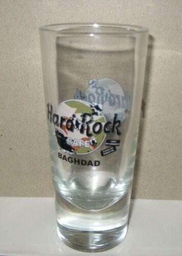 """Hard Rock Cafe BAGHDAD, Iraq 5.5"""" Shot Glass Vintage HTF"""