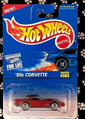 Hot Wheels 80S CORVETTE COLLECTOR 503 CREASE