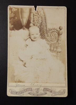 - Cabinet Card-The Jefferson Fine Art Gallery-Richmond-VA-J C James Conway Farley?