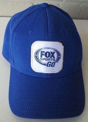 New Fox Sports Go Baseball Cap Hat One Size Adjustable Hat