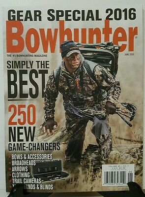 Bowhunting Simply the Best Game Changers Gear Special June 2016 FREE SHIPPING