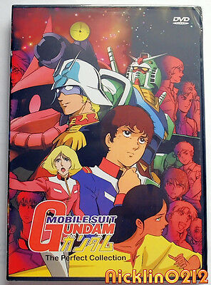 Mobile Suit Gundam 0079 Dvd Anime Complete Tv Collection Series 79 New In Usa