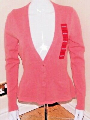 KERSH LADIES FITTED V NECK CARDIGAN WITH CRYTAL BUTTONS FANTASTIC  QUALITY BNWT