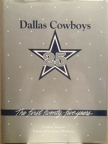 Pristine! • Dallas Cowboys • First Twenty Five Years • Stowers   FREE Shipping!