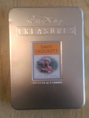 Walt Disney Treasures: Davy Crockett - The Complete Televised Series (DVD, 2001,