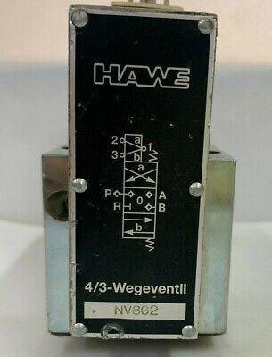 Hawe Hydraulik Nv8g2 43 Way Hydraulic Solenoid Valve 24v Dc