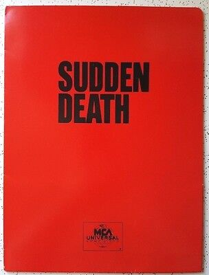 SUDDEN DEATH  - Home Video Press Kit (1996)